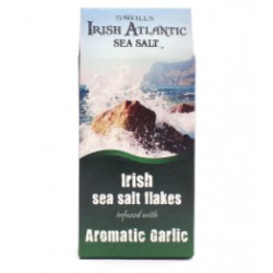 Irish Sea Salt Flakes infused with Aromatic Garlic